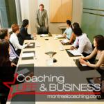 Coaching en entreprise - manger - dirigeant